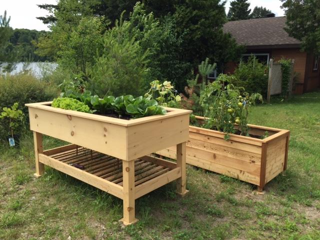 accessoire jardin bois