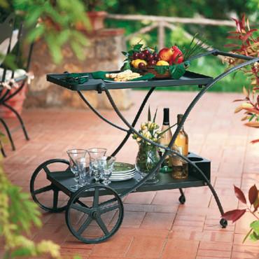 accessoire jardin fer forge