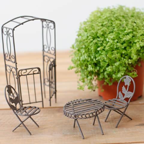 accessoire jardin miniature - le spécialiste de la décoration extérieur
