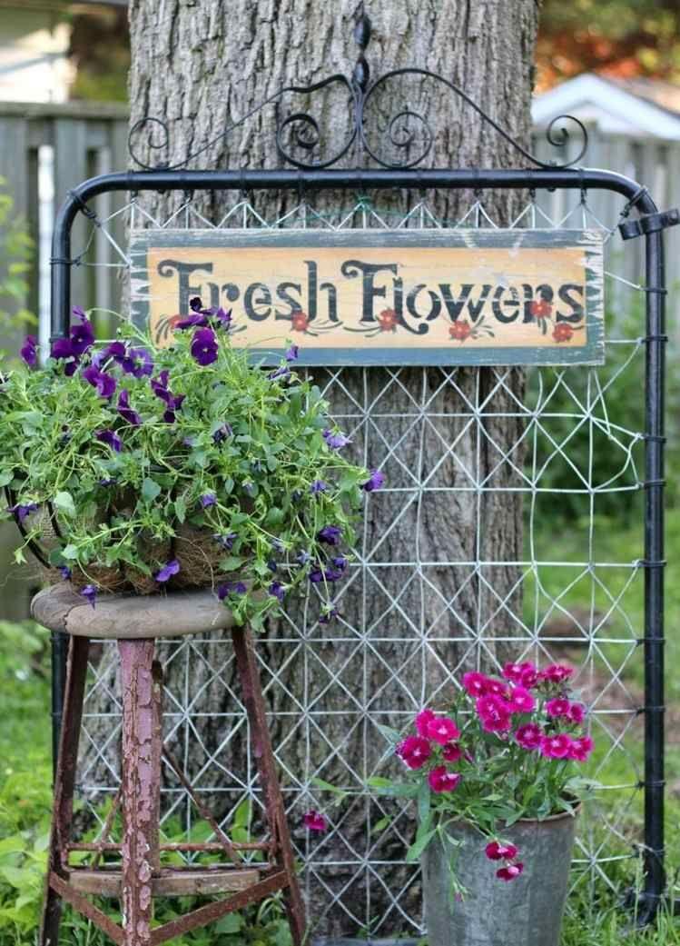 accessoire jardin original