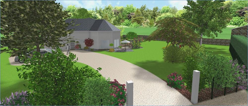 Amenagement jardin 3d logiciel gratuit le sp cialiste de la d coration ext rieur - Logiciel jardin 3d gratuit ...