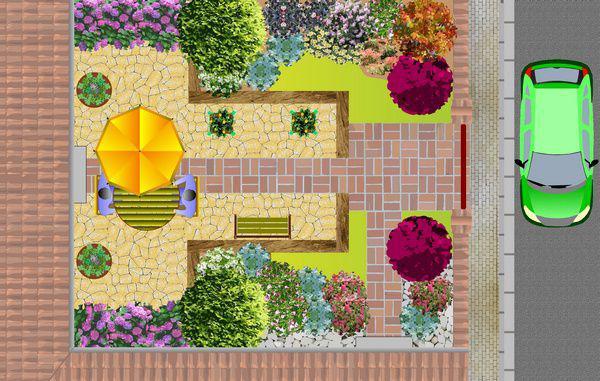 amenagement jardin 60m2