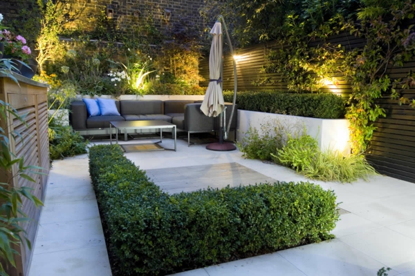 amenagement jardin a l'ombre