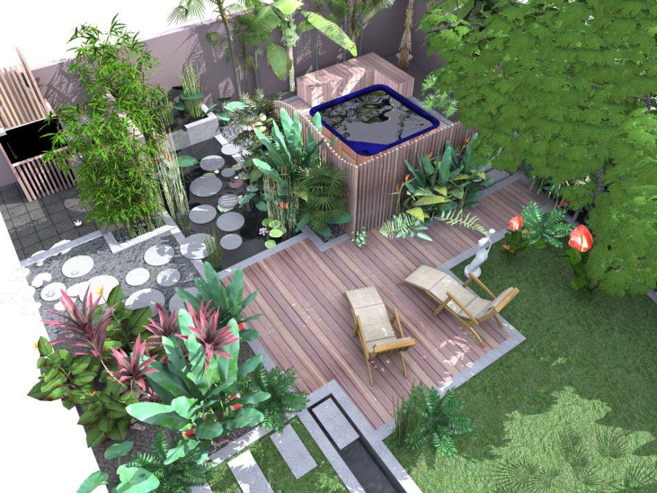 amenagement jardin a la reunion
