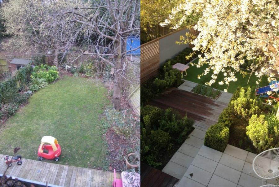 amenagement jardin avant apres le sp cialiste de la. Black Bedroom Furniture Sets. Home Design Ideas