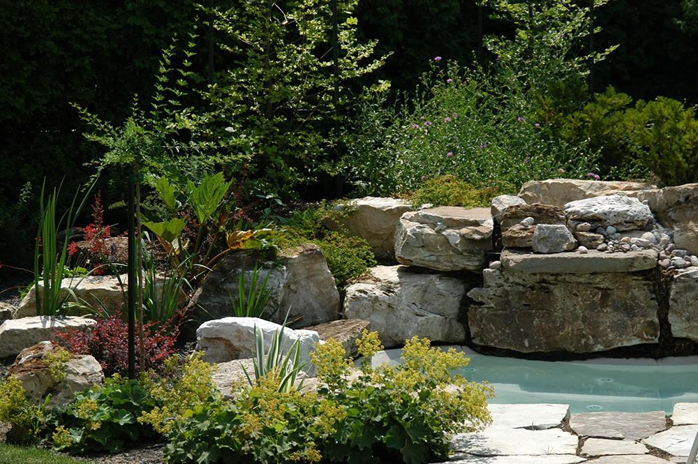 amenagement jardin avec pierre - le spécialiste de la décoration ...