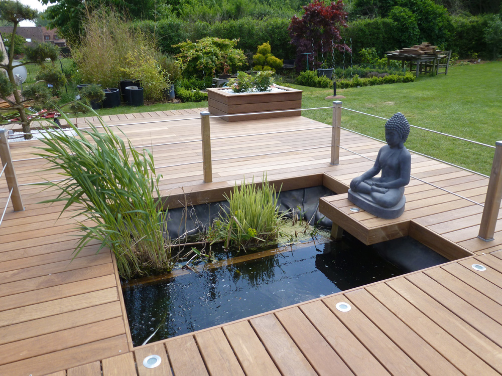 amenagement jardin avec terrasse bois - le spécialiste de la ...