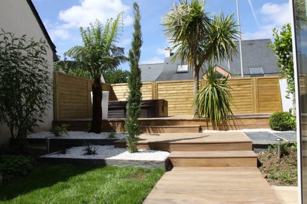 amenagement jardin bois et pierre - le spécialiste de la décoration ...