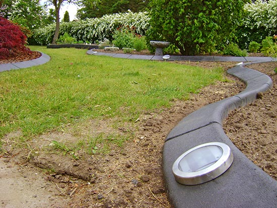amenagement jardin bordure