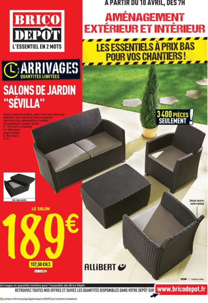 amenagement jardin brico depot