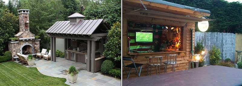 amenagement jardin coin barbecue - le spécialiste de la décoration ...