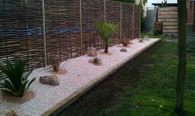 Merveilleux Amenagement Jardin Contre Un Mur