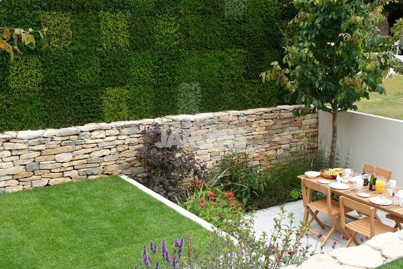amenagement jardin contre un mur - le spécialiste de la ...
