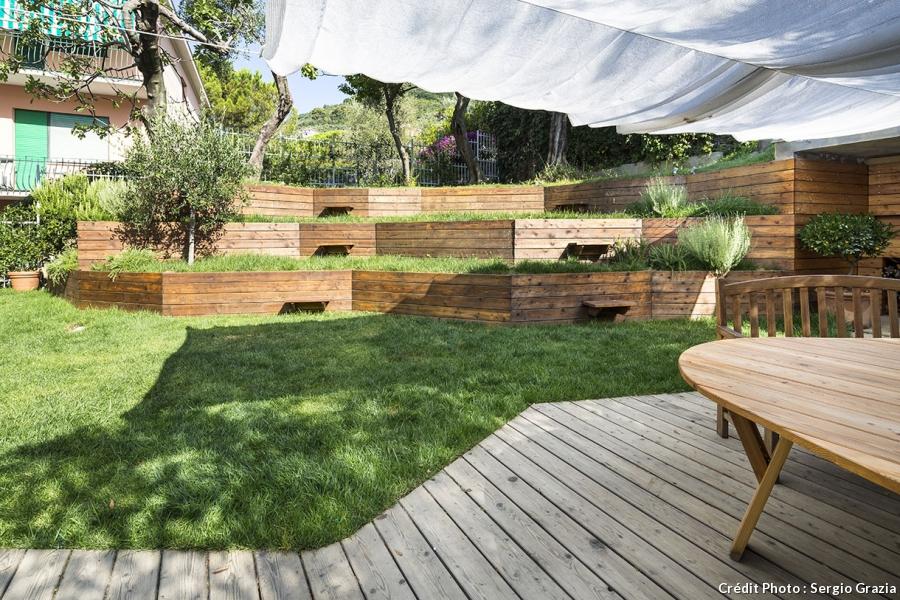 Amenagement Jardin Denivele Le Specialiste De La Decoration Exterieur