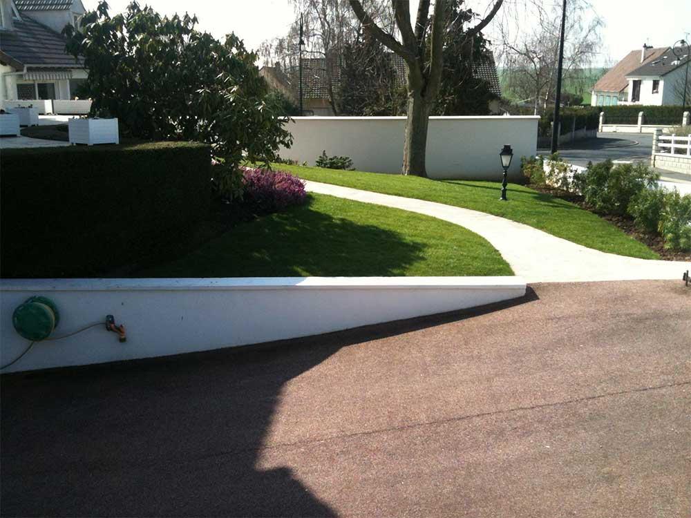 amenagement jardin devanture maison