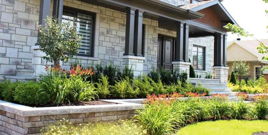 amenagement jardin devanture maison le sp cialiste de la. Black Bedroom Furniture Sets. Home Design Ideas