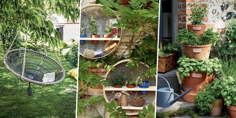 Agreable Amenagement Jardin Diy
