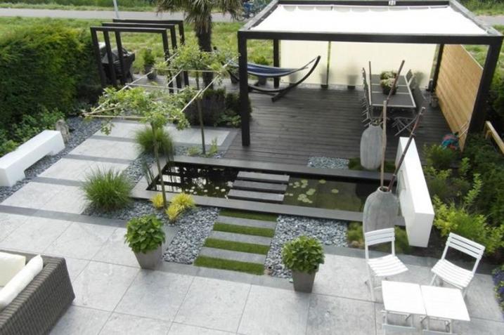 amenagement jardin en l - le spécialiste de la décoration ...