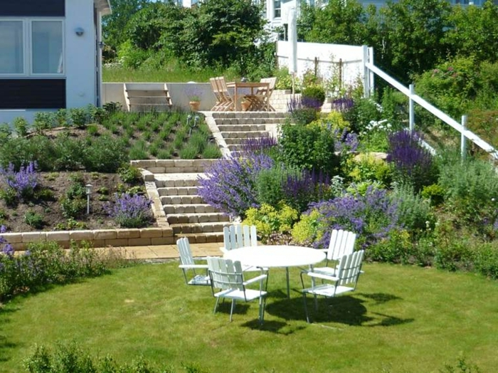 amenagement jardin en restanque