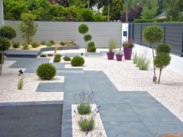 amenagement jardin entree