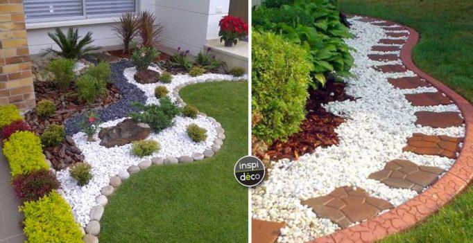 Amenagement jardin exterieur avec galets le sp cialiste - Comment decorer son jardin ...