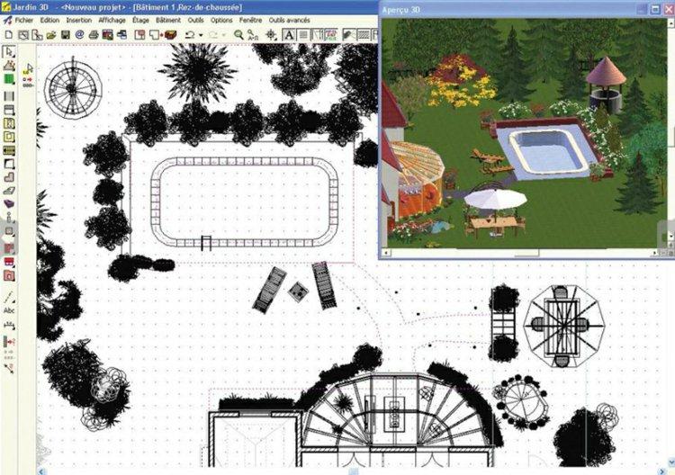 amenagement jardin exterieur logiciel gratuit
