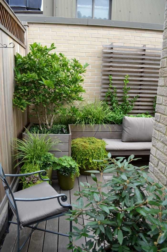 amenagement jardin fer forge