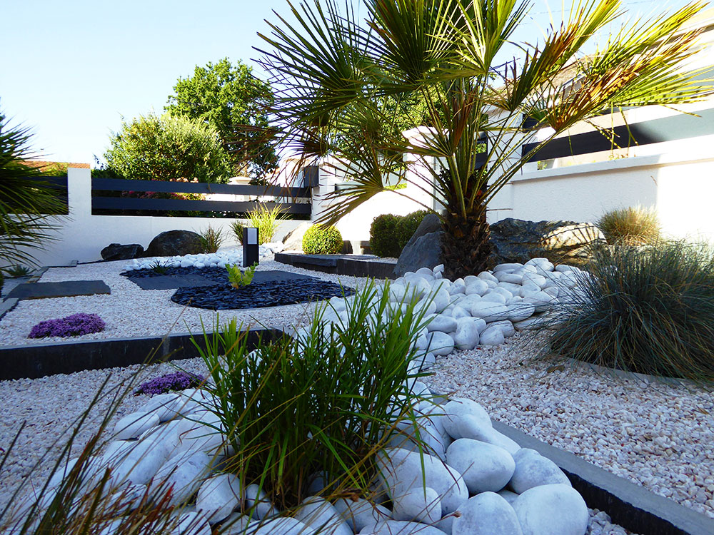 Awesome Amenager Un Jardin Contemporain Photos - House ...