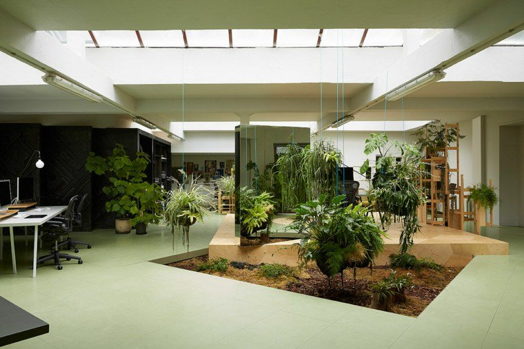 amenagement jardin interieur