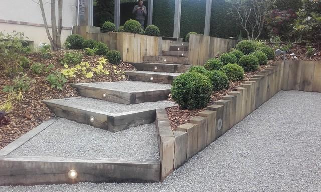 amenagement jardin moderne