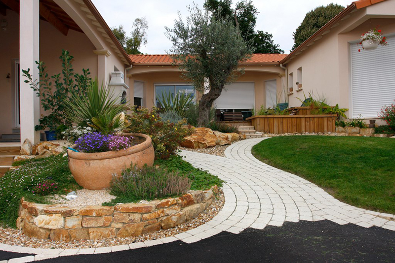 amenagement jardin nouvelle construction