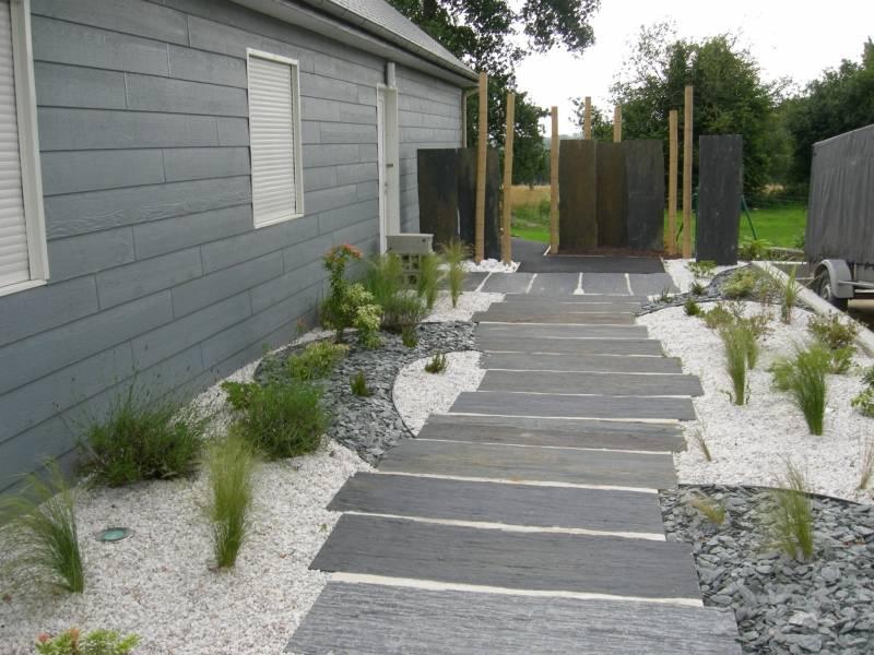 amenagement jardin rectangle