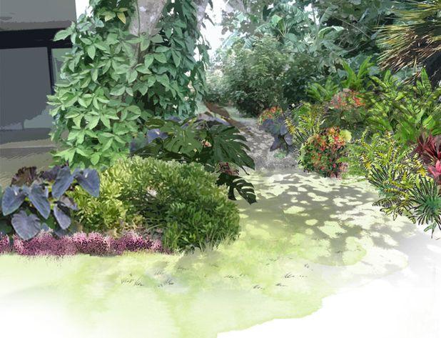 amenagement jardin reunion