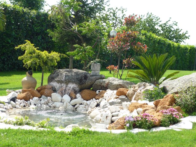 amenagement jardin rocaille