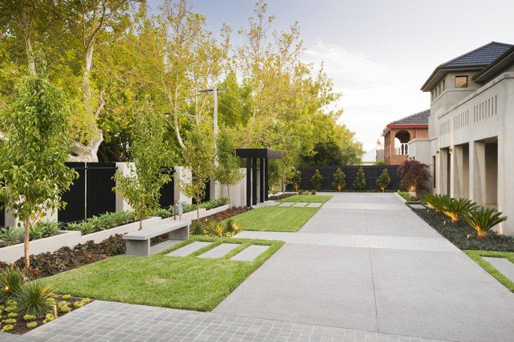 amenagement jardin sans gazon