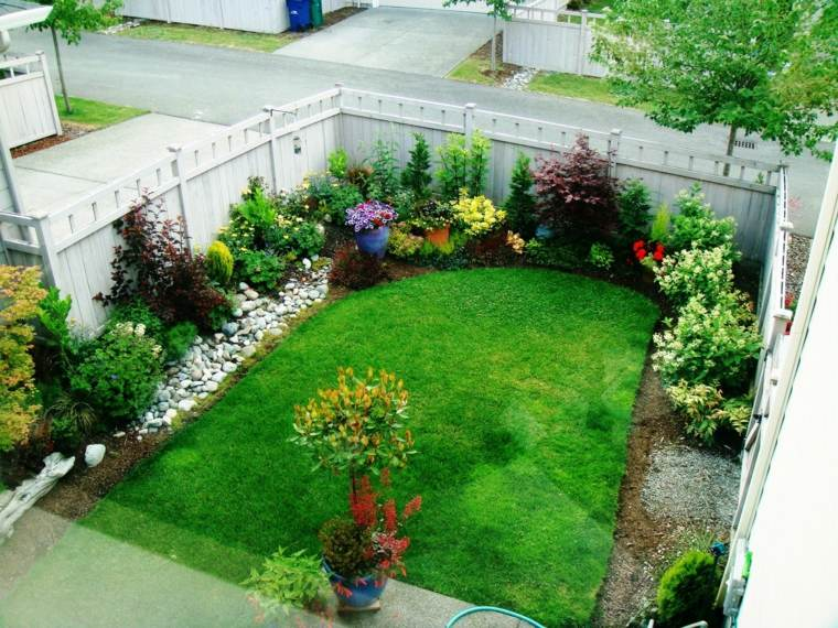 amenagement jardin simple