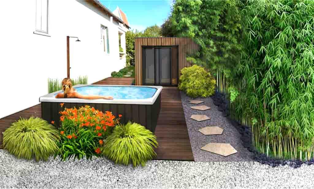amenagement jardin spa