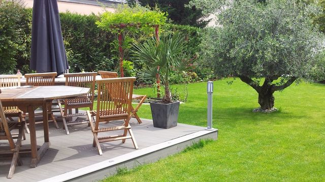 amenagement jardin sud