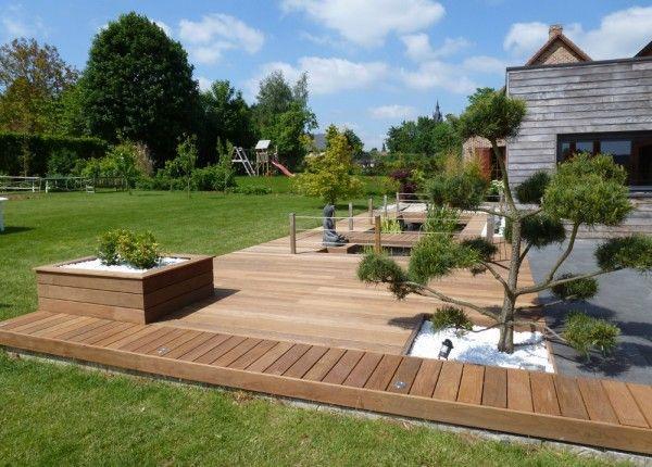 Amenagement jardin terrasse en bois le sp cialiste de la d coration ext rieur - Amenagement jardin bois ...