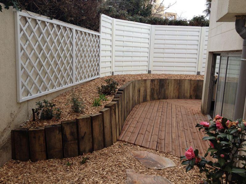 Amenagement jardin traverse bois le sp cialiste de la d coration ext rieur - Amenagement jardin bois ...