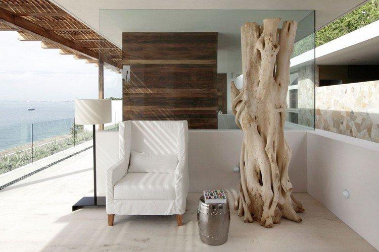 decoration exterieur bois flotte