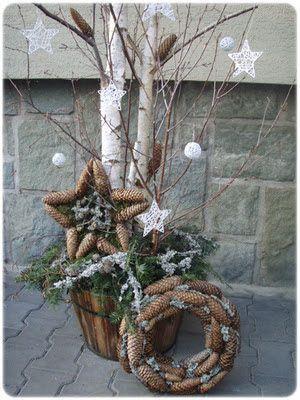 decoration exterieur bouleau