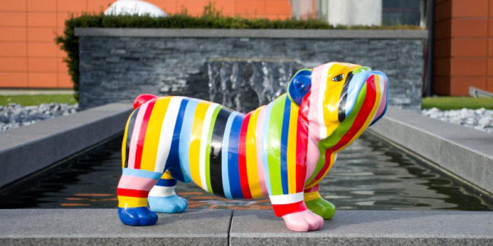 decoration exterieur chien