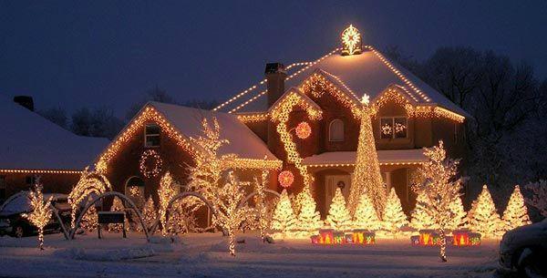 Decoration De Noel Exterieur Lumineuse.Decoration Exterieur De Noel Maison Le Spécialiste De La