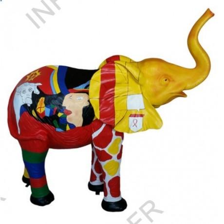 decoration exterieur elephant