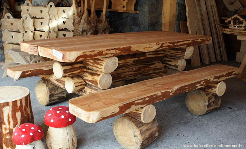 decoration exterieur en rondin de bois - le spécialiste de la ...