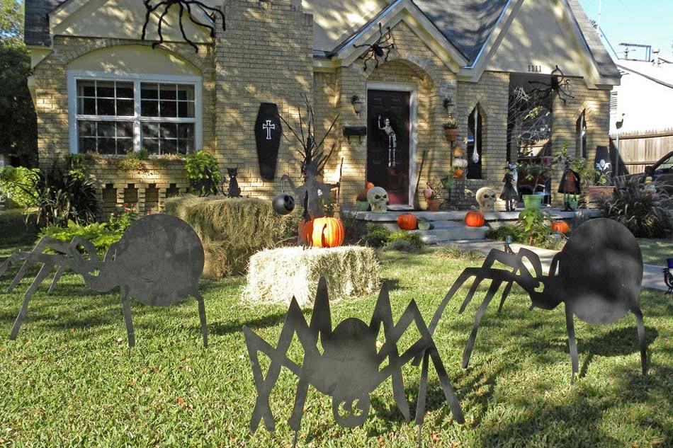 decoration exterieur halloween fait maison