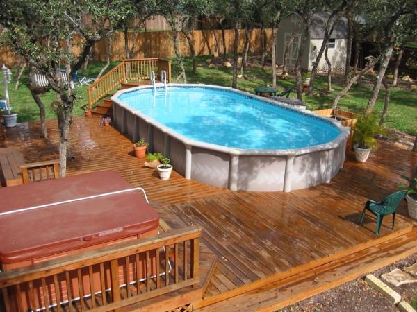 Decoration exterieur piscine hors sol le sp cialiste de - Amenagement exterieur piscine hors sol ...
