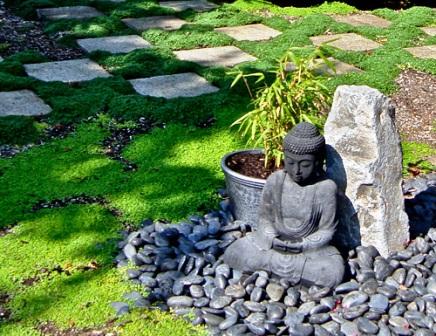 decoration exterieur pour jardin japonais