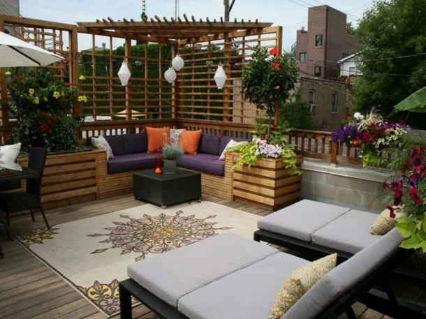decoration exterieur terrasse - le spécialiste de la décoration ...